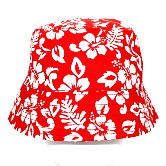 Product name : Hawaii Flower Printed Bucket Hat