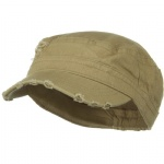 Cotton Herringbone Army Cap