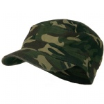 Fitted CAMO cotton Ripstop Army Cap
