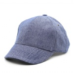 6 Panels UPF50+ Denim Baseball Cap