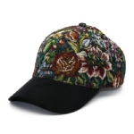 6 Panels Flyknit Flower Baseball Cap